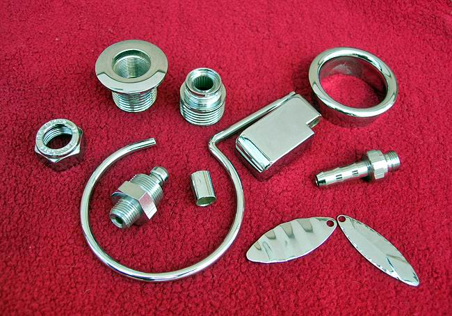 Decorative aspect of nickel and chrome plating